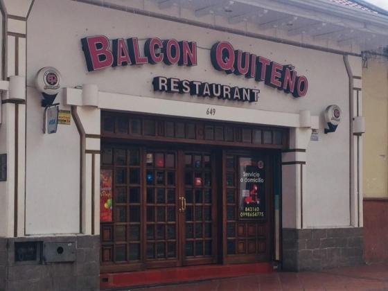 Restaurante Balcón Quiteño